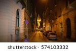 Small photo of Side Alleys and Streets of Budapest, Hungary