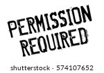 permission required rubber... | Shutterstock . vector #574107652