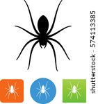 spider icon | Shutterstock .eps vector #574113385