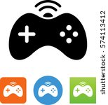 video game controller icon | Shutterstock .eps vector #574113412