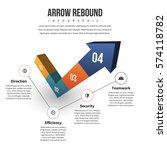 vector illustration of arrow... | Shutterstock .eps vector #574118782