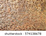 old rusted metal background ... | Shutterstock . vector #574138678