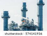 oil and gas industry refinery... | Shutterstock . vector #574141936