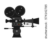 video camera vector... | Shutterstock .eps vector #574142785
