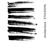 ink vector brush strokes... | Shutterstock .eps vector #574154296