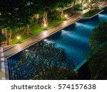 Water Pool In Courtyard In...
