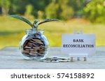 business concept   money in... | Shutterstock . vector #574158892