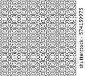 art deco seamless background. | Shutterstock .eps vector #574159975