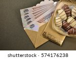 aed one thousand uae dhs... | Shutterstock . vector #574176238