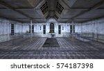 3d cg rendering of ruins | Shutterstock . vector #574187398