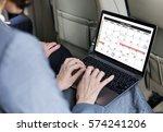 calendar appointment agenda... | Shutterstock . vector #574241206