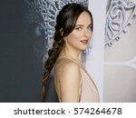dakota johnson at the los... | Shutterstock . vector #574264678