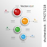 infographics vector design... | Shutterstock .eps vector #574271218