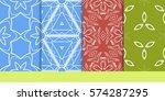 set of seamless texture of...   Shutterstock .eps vector #574287295