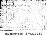 grunge black and white urban... | Shutterstock .eps vector #574313152