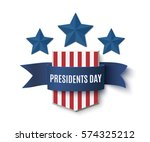 presidents day background... | Shutterstock .eps vector #574325212