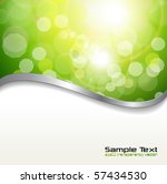 abstract background green... | Shutterstock .eps vector #57434530