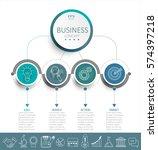 vector illustration infographic ...   Shutterstock .eps vector #574397218