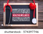 health   wellness general... | Shutterstock . vector #574397746