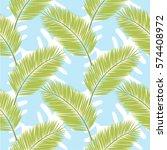 seamless vector pattern.... | Shutterstock .eps vector #574408972