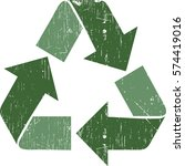 vector illustration of green... | Shutterstock .eps vector #574419016