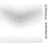 grunge halftone dots. vector... | Shutterstock .eps vector #574432672