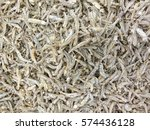 small fish anchovies at market | Shutterstock . vector #574436128