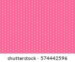 baby background. polka dot... | Shutterstock .eps vector #574442596