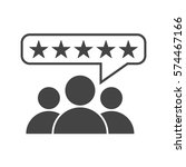 customer reviews  rating  user... | Shutterstock .eps vector #574467166