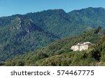 village in costa verde mountains | Shutterstock . vector #574467775