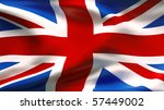 textured united kingdom cotton... | Shutterstock . vector #57449002