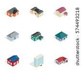 private residential... | Shutterstock .eps vector #574493218