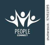vector logo people | Shutterstock .eps vector #574515595