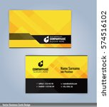 yellow and black modern... | Shutterstock .eps vector #574516102