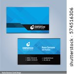 blue and black modern business... | Shutterstock .eps vector #574516306