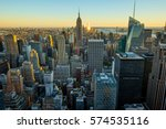 manhattan | Shutterstock . vector #574535116