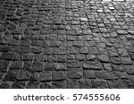 Black Cobbled Stone Road...