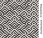 maze tangled lines contemporary ... | Shutterstock .eps vector #574599946