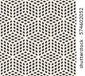 cubic grid tiling endless... | Shutterstock .eps vector #574602052