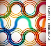 rainbow circles | Shutterstock .eps vector #57460486