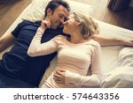 couple lover activity happiness ... | Shutterstock . vector #574643356