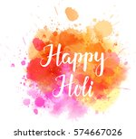 watercolor imitation... | Shutterstock .eps vector #574667026