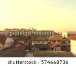 city in vintage style | Shutterstock . vector #574668736