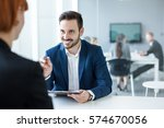 financial advisor | Shutterstock . vector #574670056