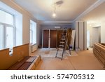 interior of apartment  during...   Shutterstock . vector #574705312