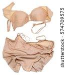 women's silk underwear of... | Shutterstock . vector #574709575