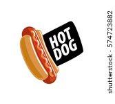 vector logo hot dog   Shutterstock .eps vector #574723882