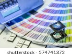 color management in printing...   Shutterstock . vector #574741372