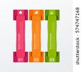 modern infographics template. | Shutterstock .eps vector #574747168