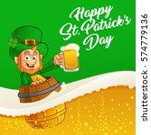 vector illustration of st.... | Shutterstock .eps vector #574779136
